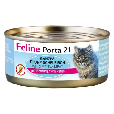 Lot Feline Porta 21, 24 x 156 g pour chat