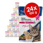 Lot Feline Porta 21, 24 x 100 g pour chat