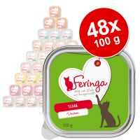 Lot Feringa Classic Meat Menu 48 x 100 g pour chat