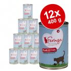 Lot Feringa Classic Meat Menu 12 x 400 g pour chat