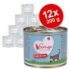Lot Feringa Classic Meat Menu 12 x 200 g pour chat