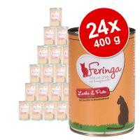 Lot Feringa Classic Meat Menu 24 x 400 g pour chat