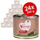 Lot Feringa Classic Meat Menu 24 x 200 g pour chat