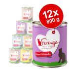 Lot Feringa Classic Meat Menu 12 x 800 g pour chat
