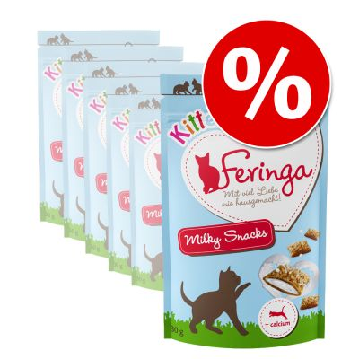 Lot Feringa Kitten Milky Snacks 6 x 30 g pour chat