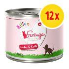 Lot Feringa Kitten 12 x 200 g pour chaton