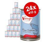 Lot Feringa Menus à la viande 24 x 410 g pour chat