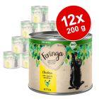 Lot Feringa Organic bio Kitten 12 x 200 g pour chaton