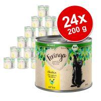 Lot Feringa Organic bio Kitten 24 x 200 g pour chaton