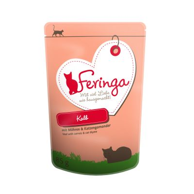 Lot Feringa 48 x 85 g pour chat