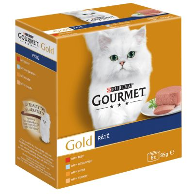 Lot Gourmet Gold 24 x 85 g pour chat