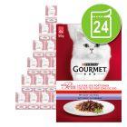 Lot Gourmet Mon Petit 6/12/24 x 50 g pour chat