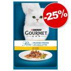 Lot Gourmet Perle pour chat 120 x 85g : 25 % de remise !