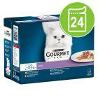 Lot Gourmet Perle 24 x 85 g pour chat