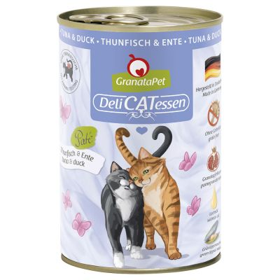 Lot GranataPet DeliCatessen 24 x 400 g pour chat