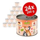 Lot GranataPet DeliCatessen 24 x 200 g pour chat