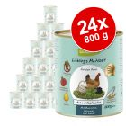 Lot GranataPet Liebling's Mahlzeit 24 x 800 g pour chien