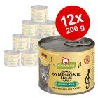 Lot GranataPet Symphonie 12 x 200 g pour chat