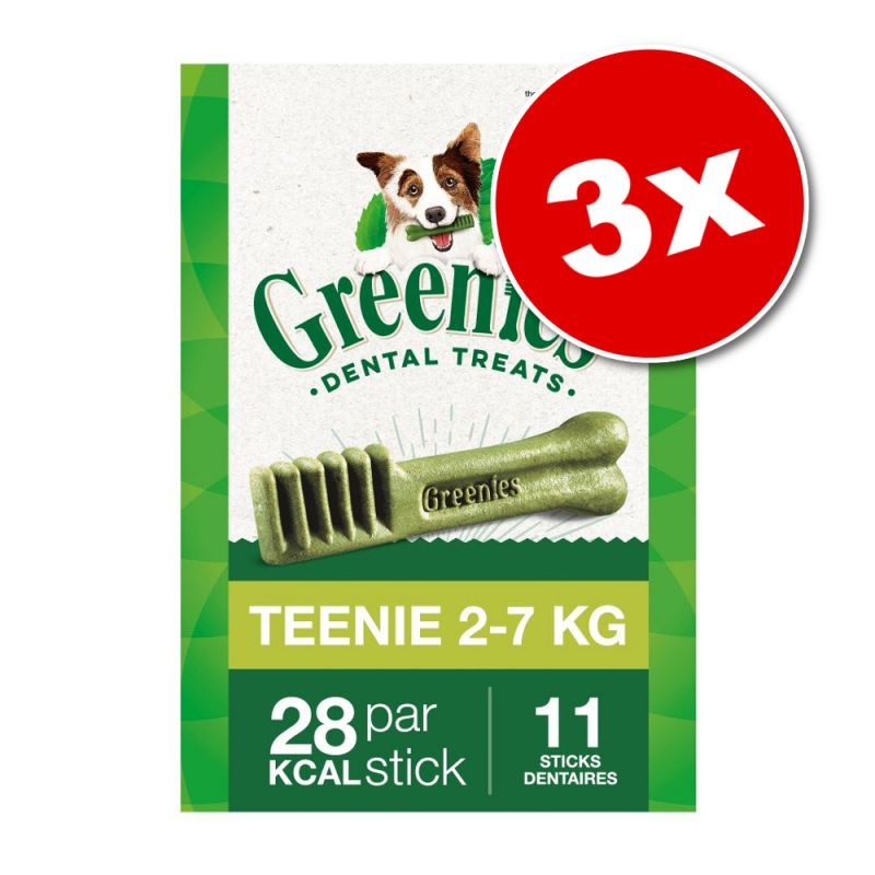 Lot Greenies Soin dentaire pour chien 3 x 85 g / 170 g / 340 g