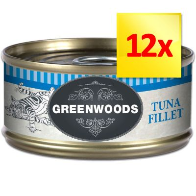 Lot Greenwoods Adult 12 x 70 g