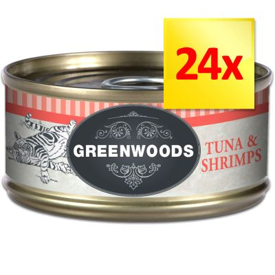 Lot Greenwoods Adult 24 x 70 g