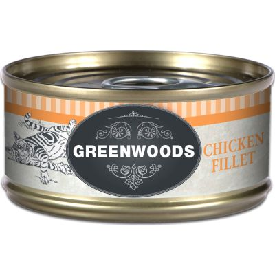 Lot Greenwoods Adult 24 x 70 g pour chat