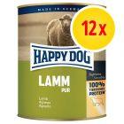 Lot Happy Dog Pur 12 x 800 g