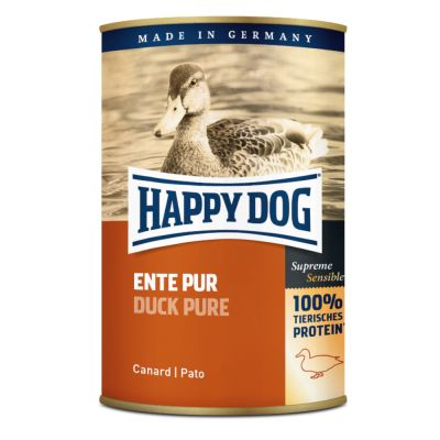 Lot Happy Dog Pur 24 x 400 g pour chien