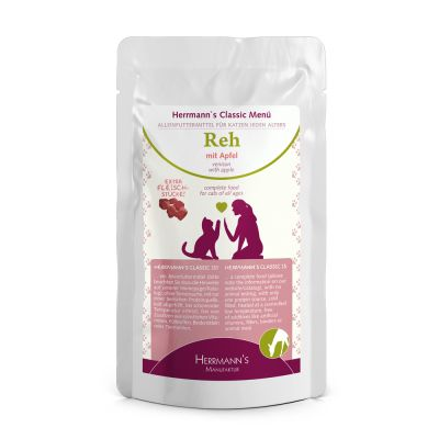 Lot Herrmanns Menu 14 x 85 g pour chat