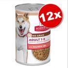 Lot Hill's Science Plan Adult No Grain 12 x 363 g pour chien
