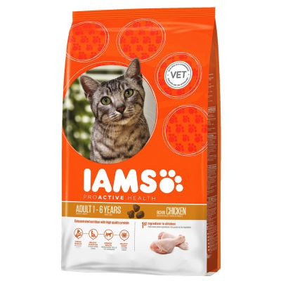 Lot Iams pour chat