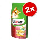 Lot Kitekat 2 x 12 g pour chat