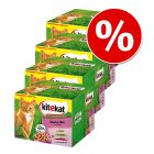 Lot Kitekat 96 x 100 g pour chat