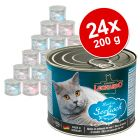 Lot Leonardo All Meat 24 x 200 g pour chat