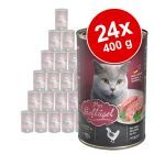 Lot Leonardo All Meat 24 x 400 g pour chat