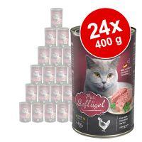 Lot Leonardo All Meat 24 x 400 g pour chat