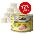 Lot MAC's 12 x 200 g pour chat