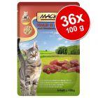 Lot MAC's 36 x 100 g pour chat
