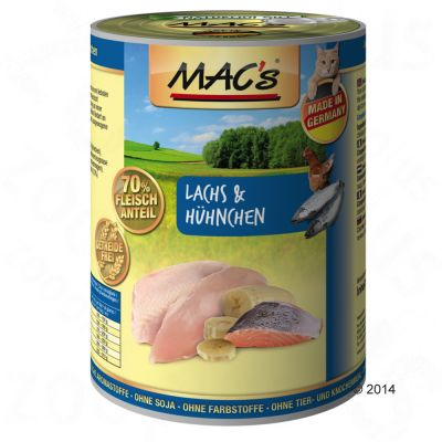 Lot MAC's 12 x 400 g pour chat