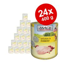 Lot MAC's 24 x 400 g pour chat