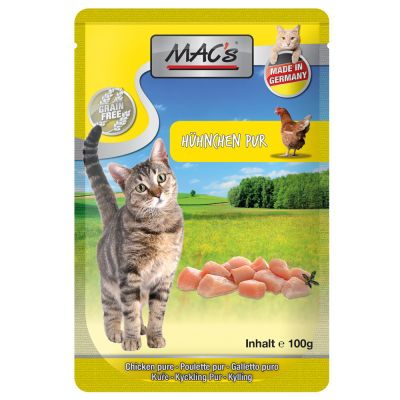 Lot MAC's 12 x 100 g pour chat