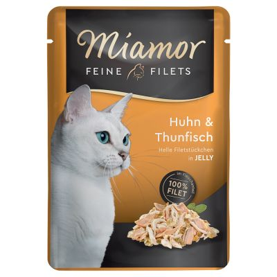 Lot Miamor Filets fins en gelée 24 x 100 g