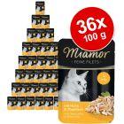 Lot Miamor Filets Fins en gelée 36 x 100 g pour chat
