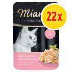 Lot Miamor Filets fins 24 x 100 g pour chat