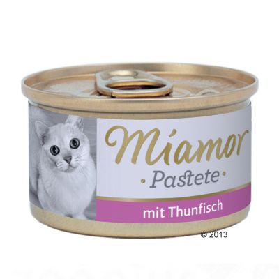Lot Miamor 24 x 85 g pour chat
