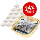Lot Mister Stuzzy Cat 24 x 100 g pour chat