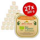 Lot mixte Almo Nature BioOrganic Maintenance 27 x 300 g pour chien