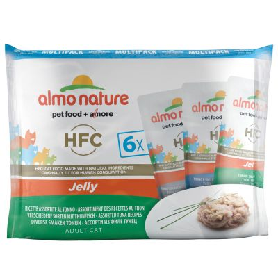 Lot mixte Almo Nature HFC 6 x 55 g