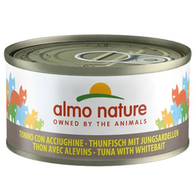 Lot mixte Almo Nature 6 x 70 g pour chat