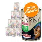 Lot mixte Animonda Carny Adult 12 x 400 g pour chat